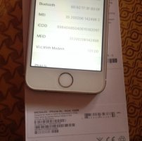 Iphone 5s gold 16gb QT zin
