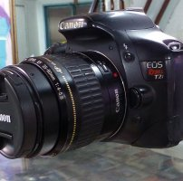 Combo Canon 550d + kit 18 55 fullbox