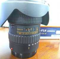 Tokina 11-16 F2.8 DX II For Canon fullbox