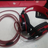Headphone Venus A6 đỏ game net