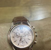 Esq Chronograph Rose Tone Quartz Watch E5323
