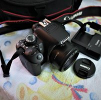 Canon 650d  6k shot + lens 50mm stm