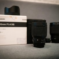 Sigma 85mm 1.4 Art for Canon