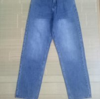 Jeans ống rộng