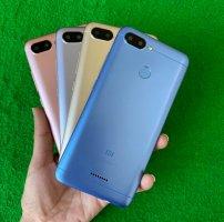 Xiaomi Redmi 6 2sim có vân tay, sẳn tiếng việt, máy zin đẹp, giá rẻ, ship COD toàn quốc