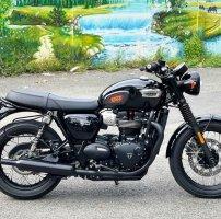 Triumph Bonneville T100 Black Xe Mới Đẹp