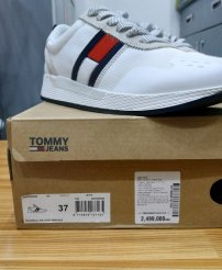 Giày nữ Tommy Jeans Technical Pin Logo Sneakers