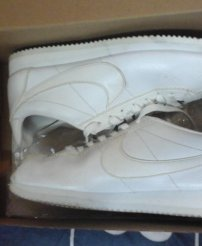 Giày Nike Corted classic trắng , Real 100%