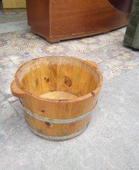 Thanh lý Chậu gỗ ngân chân spa cũ giá rẻ