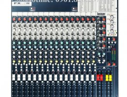 Bán mixer soundcraft fx16ii