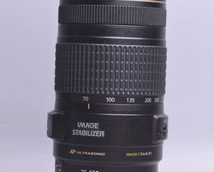 Canon 70-300mm f4-5.6 IS USM Macro AF (Canon 70-300 4-5.6) 98% - 15212
